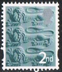 England SG EN6 2003 Emblems 2nd unmounted mint